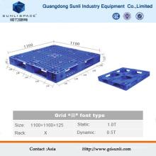 Grid Oberfläche Heavy Duty Kunststoff-Lagerpalette