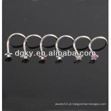 Personalizado nariz studs nariz livre nariz jóias anéis