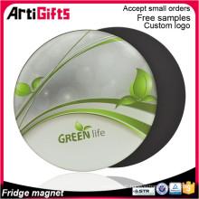Oeuvre gratuite personnalisée aimant de réfrigérateur pour cadre photo