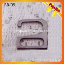 SB09 Schwarze Farbe Metall BH Adjuster / BH Strap Clip / BH Strap Haken Bademode Zubehör