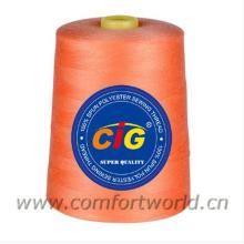 100% Spun polyester sewing thread 40S/2-10000Yds