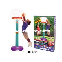 Crianças de pé Basketball Board com basquete, bombas de mão, chave de fenda (091761)