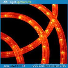 Luz impermeable de la cuerda redonda 2 alambres