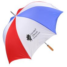 Budget-Beater Golf Umbrella - Red/White/Blue