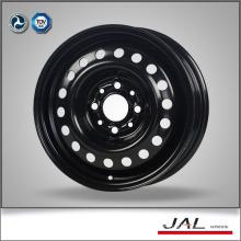 Standard Hot Sale Black Car Wheels Steel Car Wheels Rim