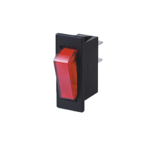 Standard bersinar lug Automotif Rocker Switch