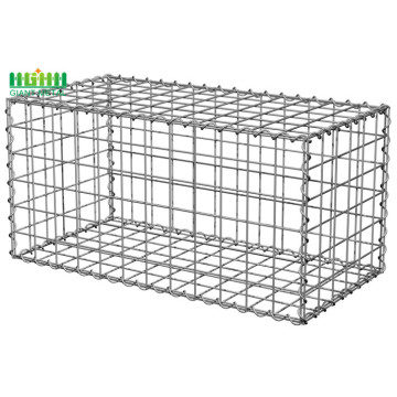 Galion Gabion Basket / Gabion Box Perlindungan Welded