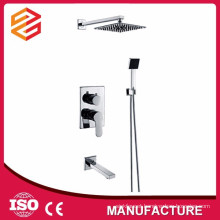 in wall shower sets new square rain shower head set