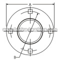 4-Bolt Hole Round Self-Aligning Mounting Flanges
