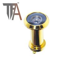 Visor de cobre amarillo de la puerta de la alta calidad