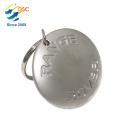 Hochwertige Werbe benutzerdefinierte Metall Zink-Legierung Schlüsselbund