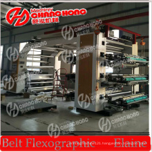 Wide Flexographic Printing Machine with Video Inspection