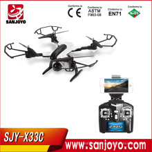 SJY-X33C Altitude Hold 2.4G Foldable drone WIFI FPV HD Camera Phone Control drone