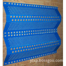 Dust wind-antipollution perforated sheet (Network punching)