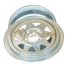Cheap price 14 inch PCD 5x114.3 galvanized boat trailer wheel