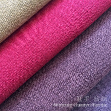Decorative Home Textile Fabric Linen Look for Sofa
