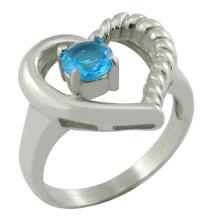 Ringe Schmucksache-Art und Diamant-Hauptstein-Diamant-Ring