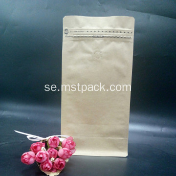 Natual Kraft Paper Bag Box Pouch