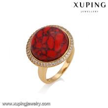 14765 xuping bijoux graceful18k plaqué or mode bague de fiançailles pour dame