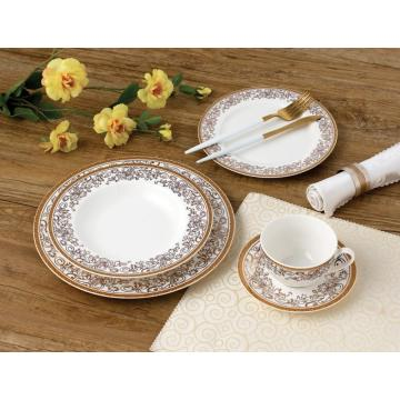 GOLDEN NEW BONE CHINA TABLEWARE