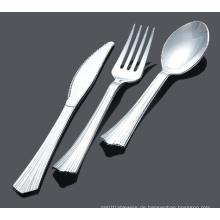 PS Besteck Silber Löffel Messer Gabel