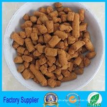 Boiler plant for iron oxide desulfurizer