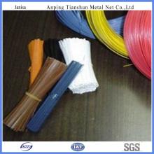 Encuadernación de alambre de corte recubierto de PVC