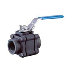 3PC de alta presión de acero forjado F316 válvula de bola 1 pulgada