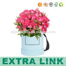 Ramos de flores de alta calidad que empaquetan las cajas de papel decorativas