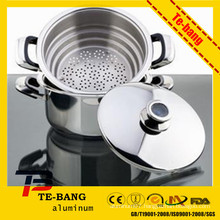 Saving energy portable aluminum pressure cooker with high quality