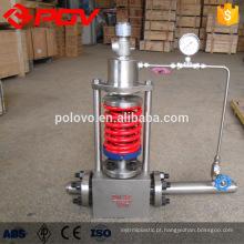 Válvula de regulação automática do corpo WCB dn100