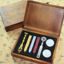 Traditionele eerste zegel Wax Set