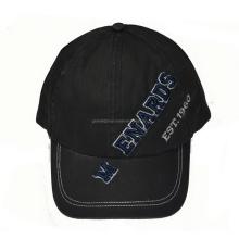 6 paneles de ropa lavado gorra de béisbol con logotipo personalizado
