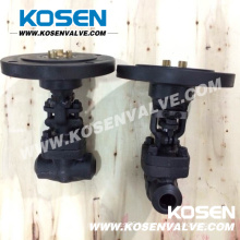 Electric Actuator Forged Steel Bw Globe Valves