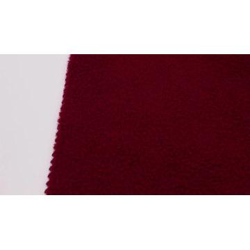 tecido com capuz de algodão polar de poliéster rosa escovado