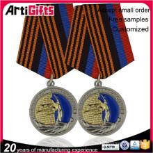 Insignia de medalla de metal masónica de alta calidad