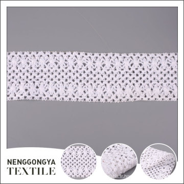 Top qualité Différents types de crochet vêtement dentelle dentelle