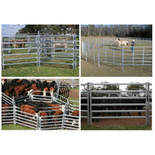 Garden Security Welding Wire Fence Panel / Galvanized Cattle Fence Panels / Installation facile Panneau de clôture en acier temporaire