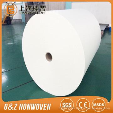 Tissu non-tissé en spunlace 100% polyester