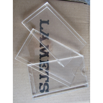 Acrylic Name Card Holder Nozzles of Engineering Machinery