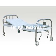 A-136 Lit d'hôpital mobile fonctionnel à deux fonctions