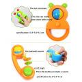 Alimentador Botle Embalagem 8 PCS Plastic Toy Kids Set Chocalho Do Bebê (10214092)