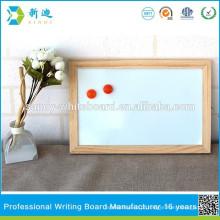 Mini whiteboards magnéticos baratos da madeira para o refrigerador 20 * 30cm