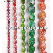 Natural stone bead string for jewelry DIY