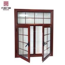 Cheap preço casement grade da janela de alumínio