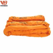 5 Ton flat polyester webbing strap lifing sling