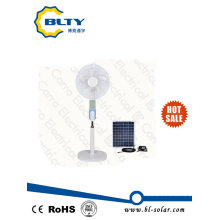 Rechargeable Stand Fan Wirh Solar Charging