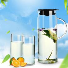 Creative Northern Europe Design Glass Juice Jug Teaset