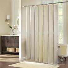 Jacquard cortinas de baño de diseño y cortinas de ducha