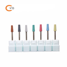Nail Silicone Sanding Drill Bit Gel Polish Removal Files Polisher Cutter